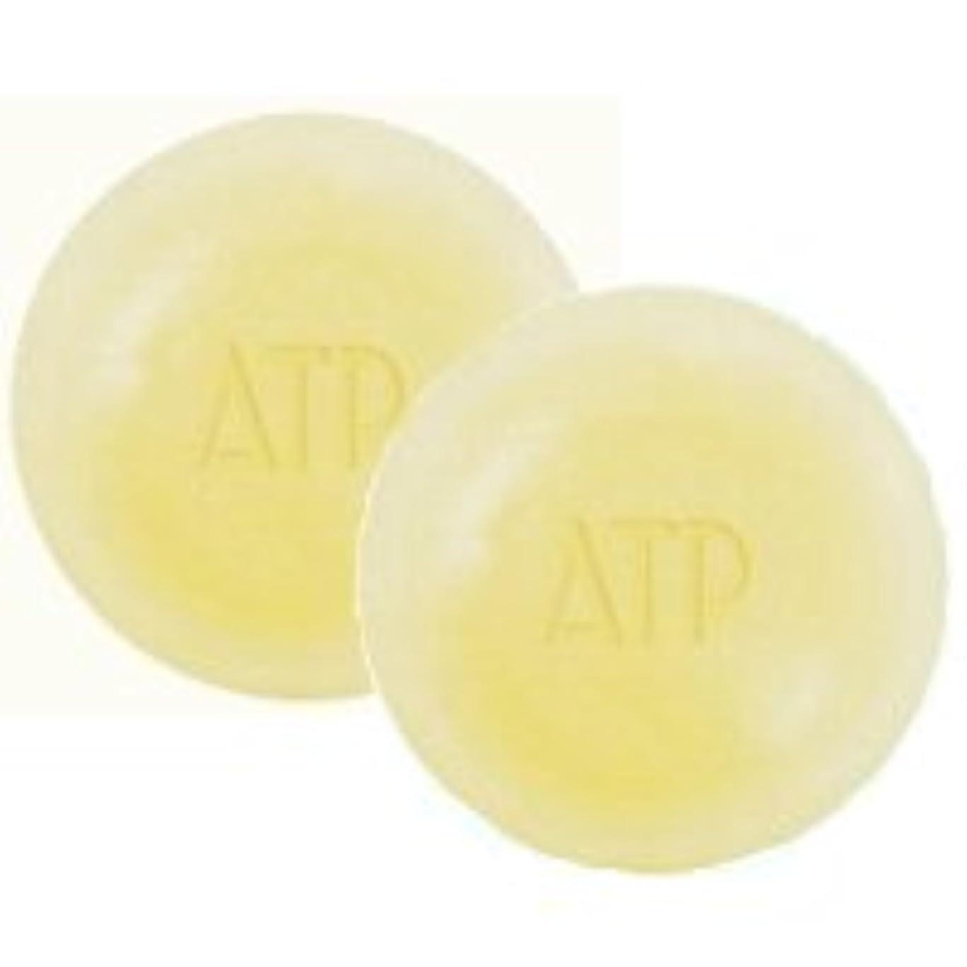 退院ニュース実質的ATPデリケアソープ 100g ケース付 2個セット