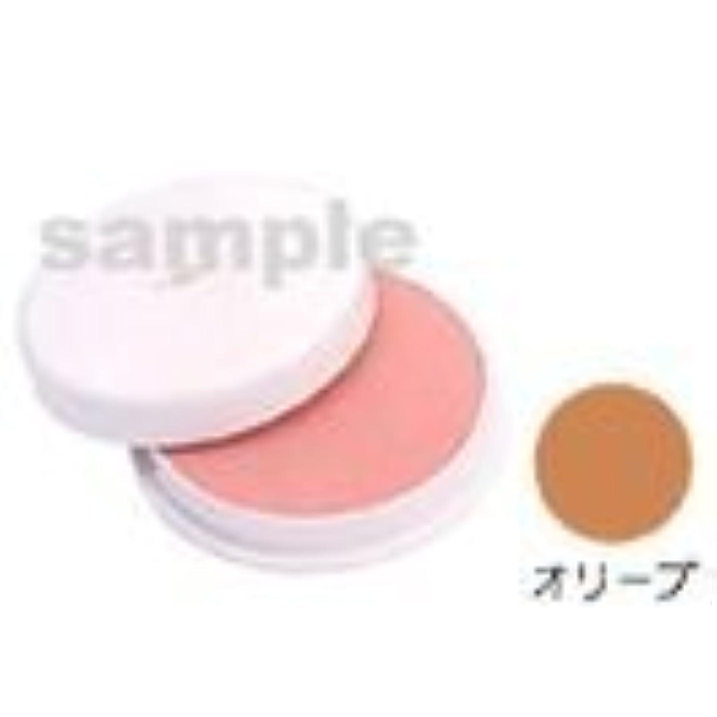 拍車監査手当三善 フェースケーキ ファンデーション コスプレメイク 舞台メイク カラー:オリーブ (C)