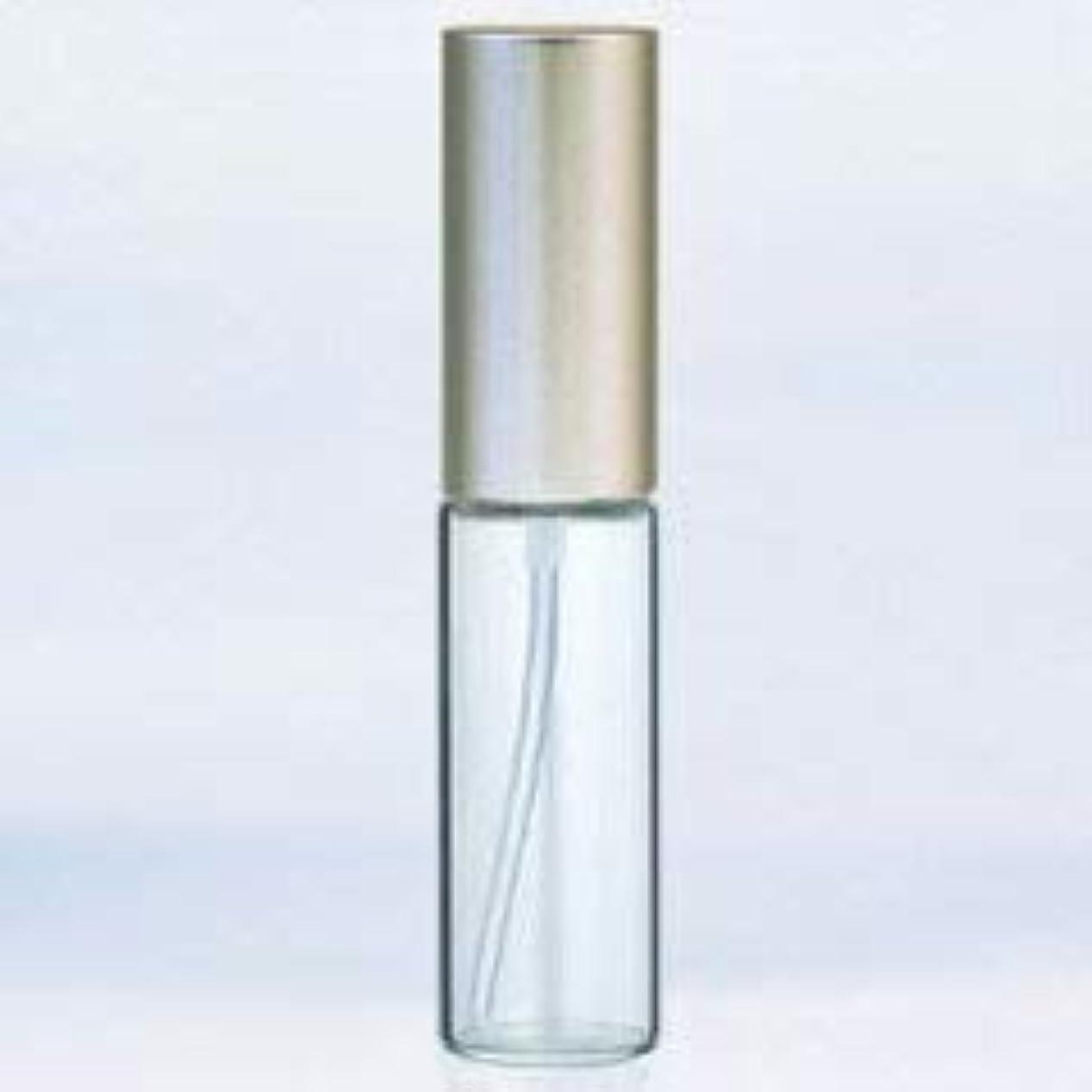 病的鑑定逆に【ヤマダアトマイザー】グラスアトマイザー プラスチックポンプ 無地 アルミキャップ シルバーつや消し 10ml 6204