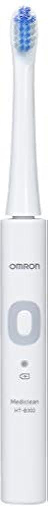 寝る典型的な忌まわしいオムロン 音波式電動歯ブラシ HT-B302 HT-B302-W ホワイト