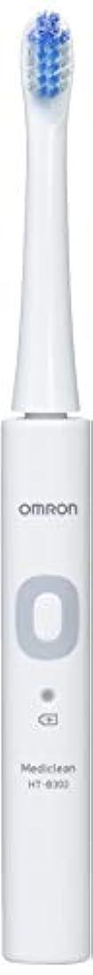 ローブクラブ群衆オムロン 音波式電動歯ブラシ HT-B302 HT-B302-W ホワイト