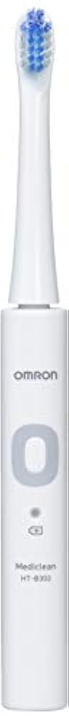 敬な月些細オムロン 音波式電動歯ブラシ HT-B302 HT-B302-W ホワイト