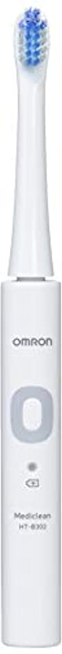 祖先鮮やかな知人オムロン 音波式電動歯ブラシ HT-B302 HT-B302-W ホワイト