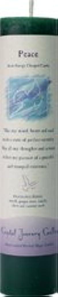 基礎理論行くシンプルさ魔法のヒーリングキャンドル ピース(平和)