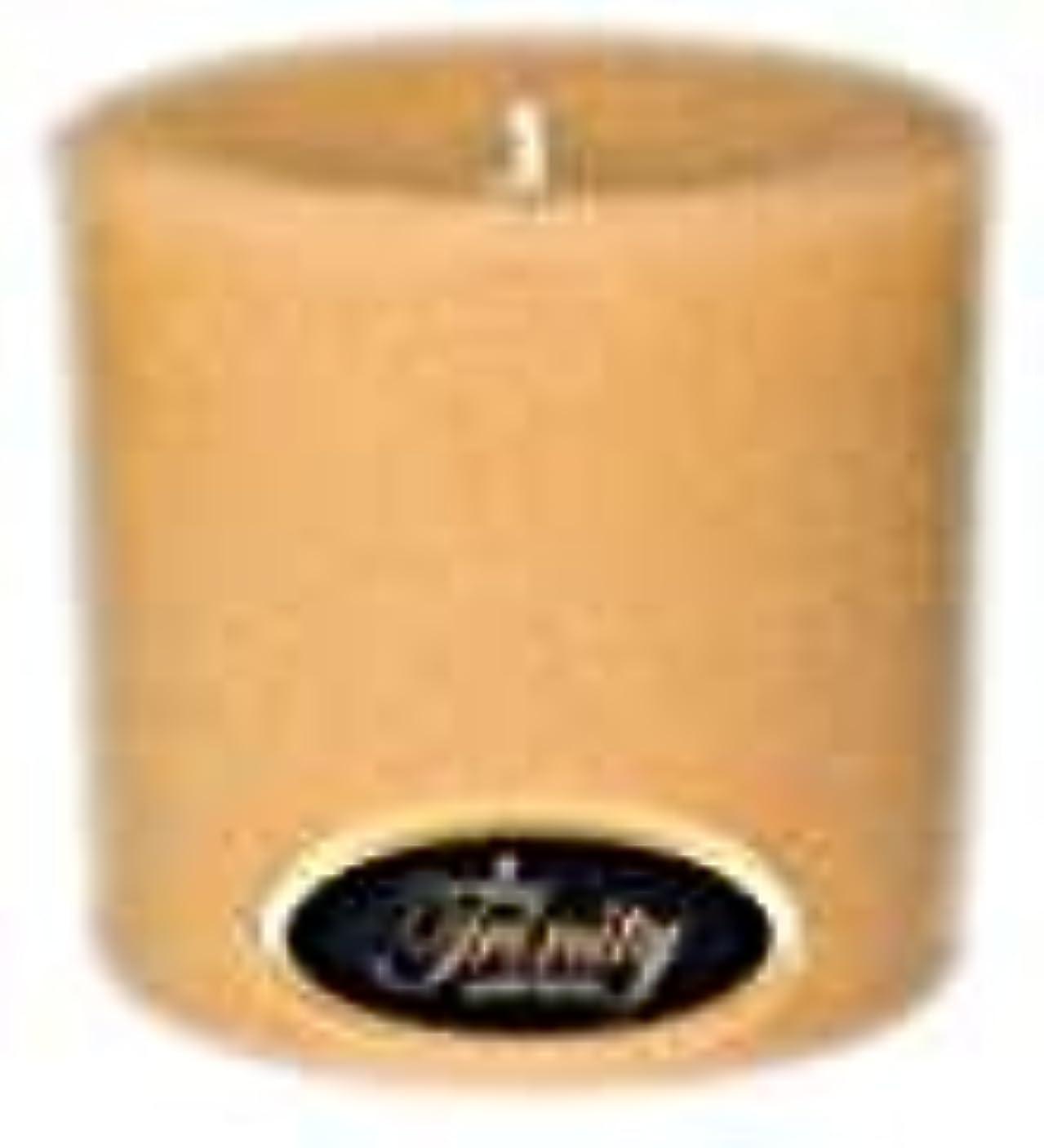 シアー小麦メドレーTrinity Candle工場 – サンダルウッド – Pillar Candle – 3 x 3