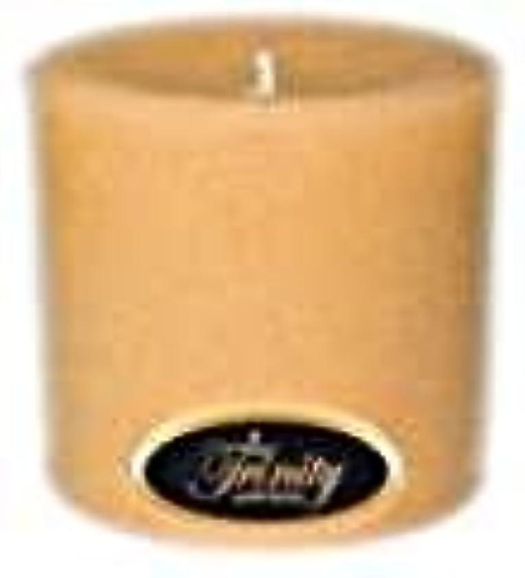 以降優越敬Trinity Candle工場 – サンダルウッド – Pillar Candle – 3 x 3