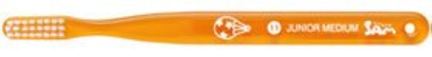 冷蔵する構築する表示【サンデンタル】【歯科用】サムフレンド ベーシック #11 ジュニア?ミディアム 30本【歯ブラシ】【ふつう】6色アソート