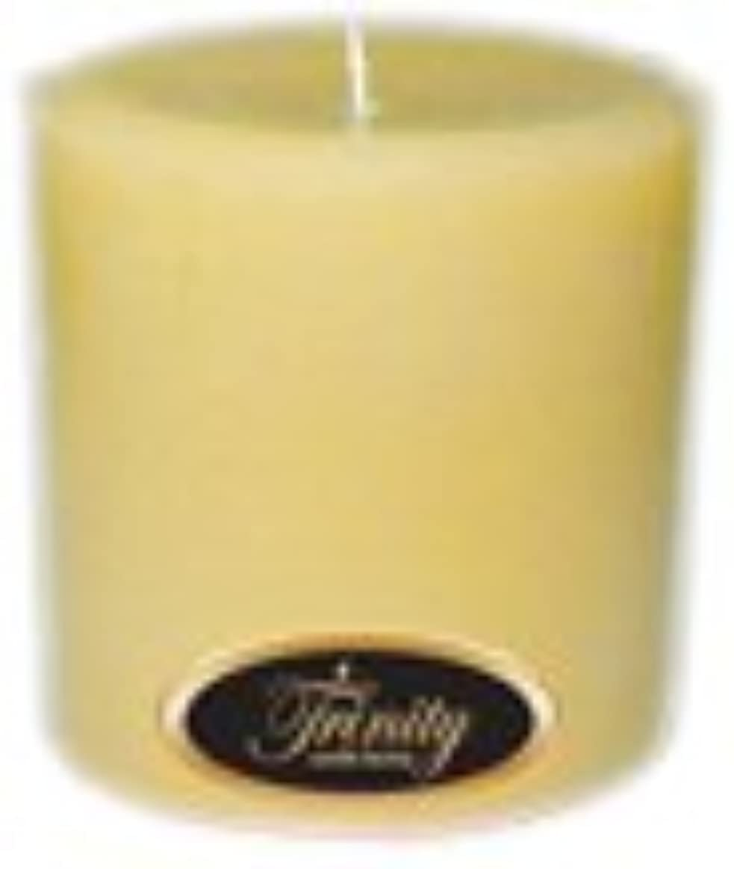 ブースまだ霜Trinity Candle工場 – Vanilla Spice – Pillar Candle – 4 x 4