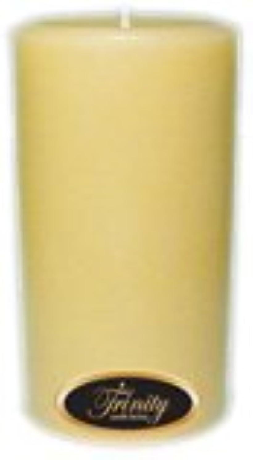 ゴールデン反応する寝具Trinity Candle工場 – Vanilla Spice – Pillar Candle – 3 x 6