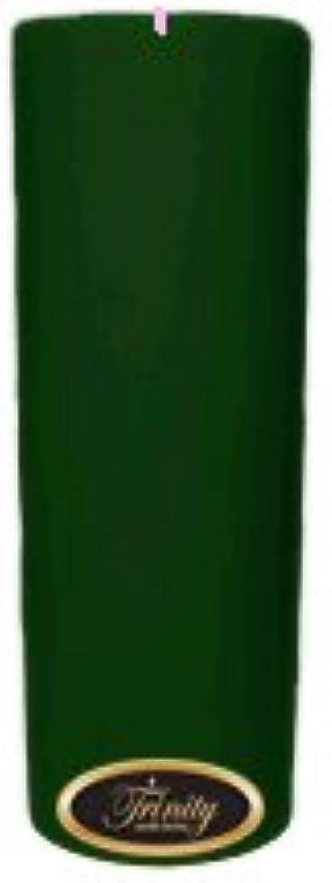 呪い爪パラメータTrinity Candle工場 – クリスマスツリー – Pillar Candle – 3 x 9