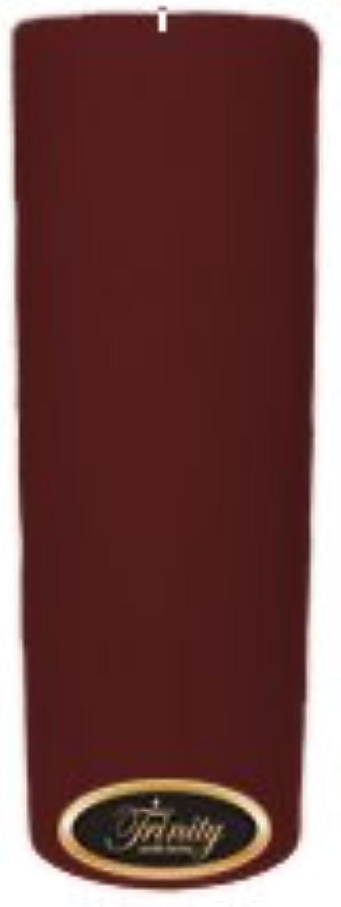 シュガーピーブステージTrinity Candle工場 – Mulberry – Pillar Candle – 3 x 9