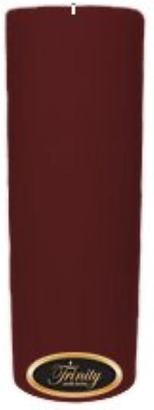 訴えるスピン力強いTrinity Candle工場 – Mulberry – Pillar Candle – 3 x 9