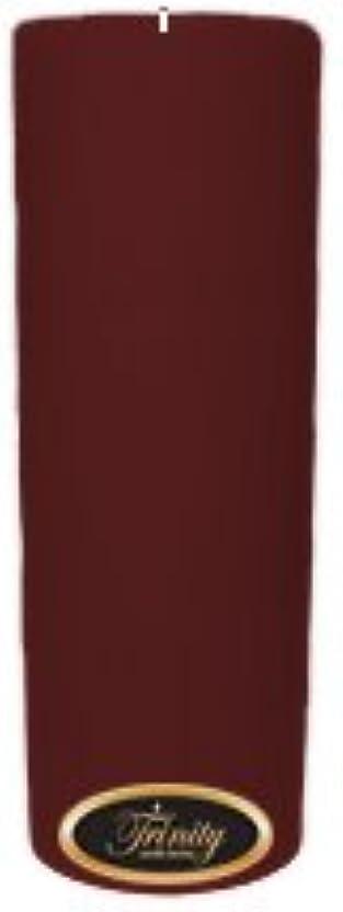 意図バイオレット語Trinity Candle工場 – Mulberry – Pillar Candle – 3 x 9