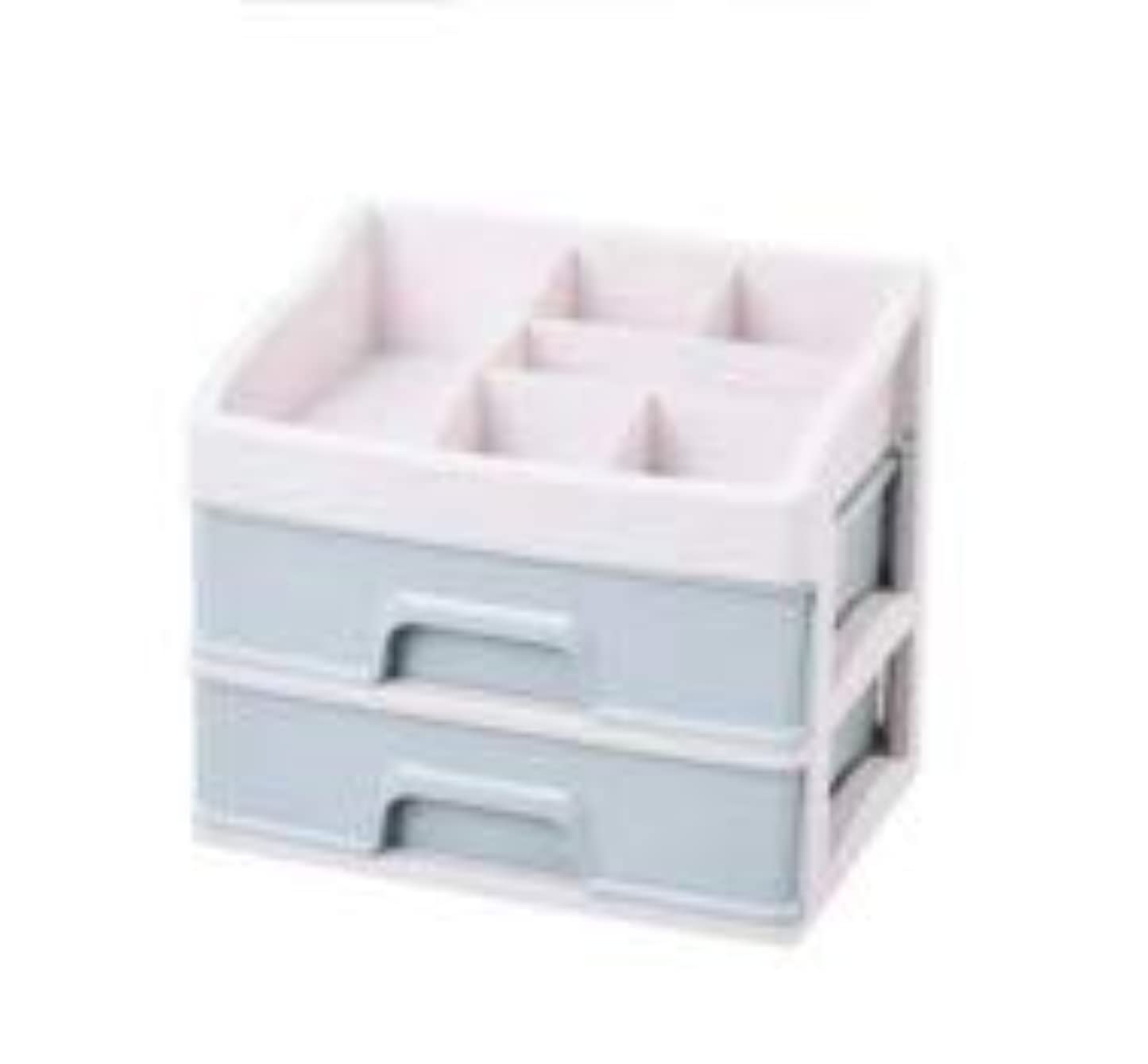 とは異なり彫るビート化粧品収納ボックス引き出しデスクトップ収納ラック化粧台化粧品ケーススキンケア製品 (Size : M)