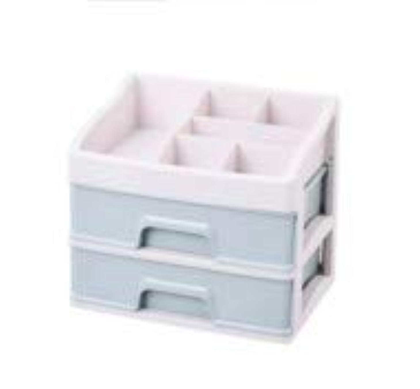 次コードマラドロイト化粧品収納ボックス引き出しデスクトップ収納ラック化粧台化粧品ケーススキンケア製品 (Size : M)