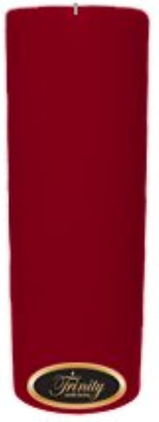 毒性アンビエント大佐Trinity Candle工場 – Cinnamon Swirl – Pillar Candle – 3 x 9