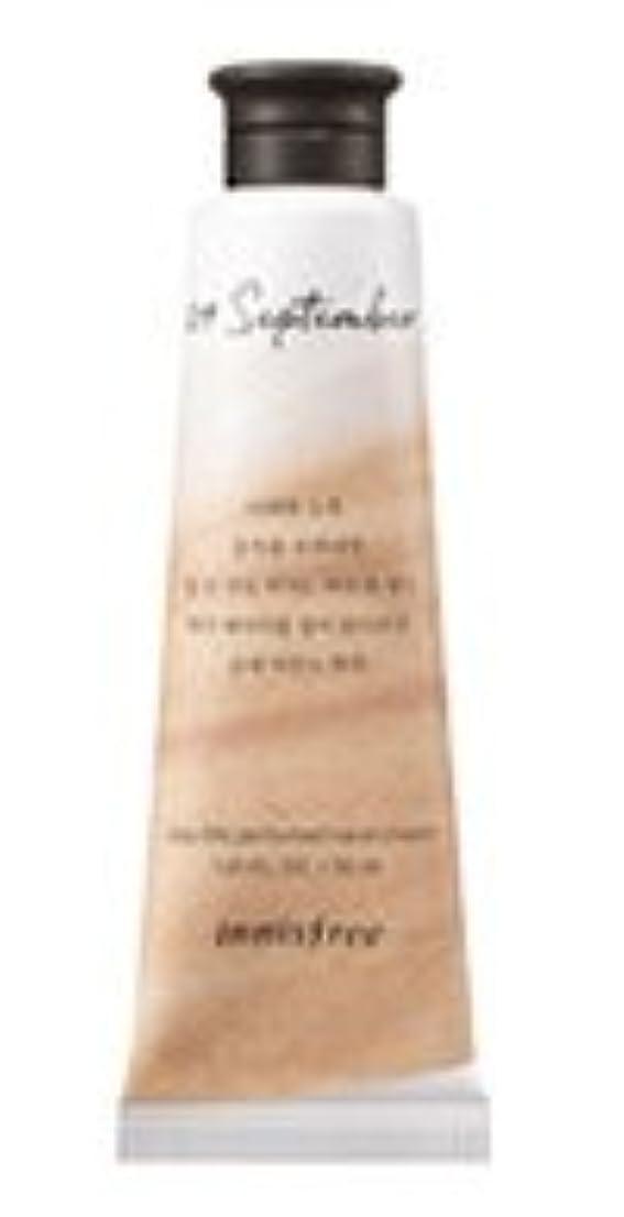 カートン地域スナップInnisfree Jeju life Perfumed Hand Cream (9月 紅茶) / イニスフリー 済州ライフ パフューム ハンドクリーム 30ml [並行輸入品]