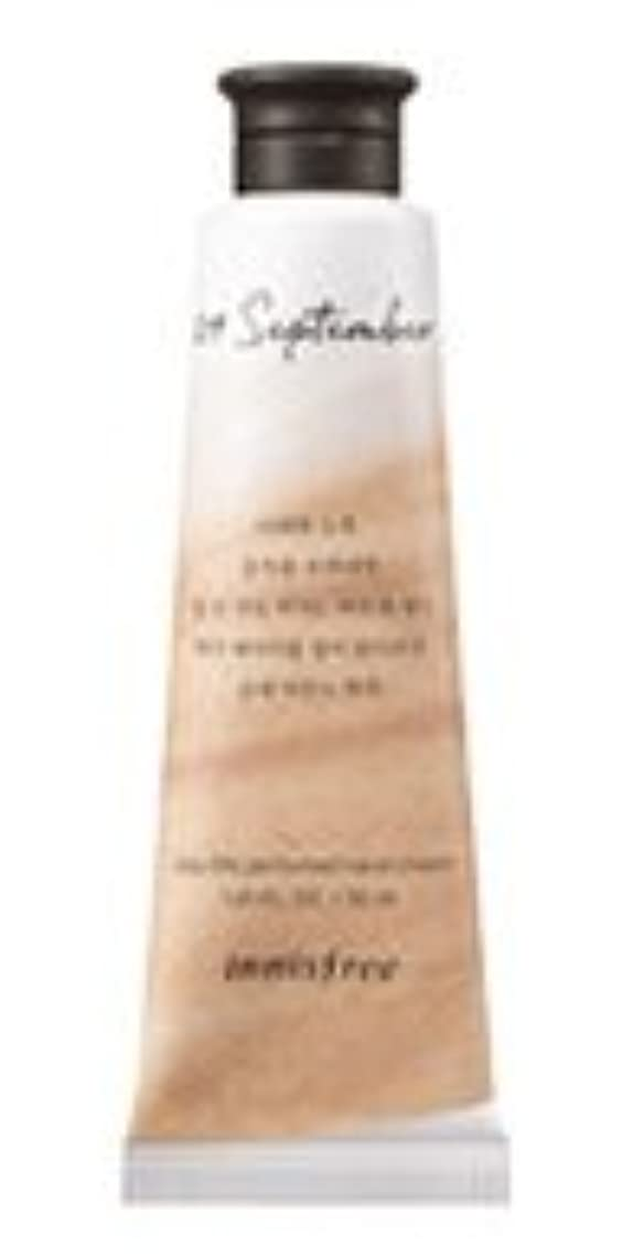 うめき声旅行者好色なInnisfree Jeju life Perfumed Hand Cream (9月 紅茶) / イニスフリー 済州ライフ パフューム ハンドクリーム 30ml [並行輸入品]