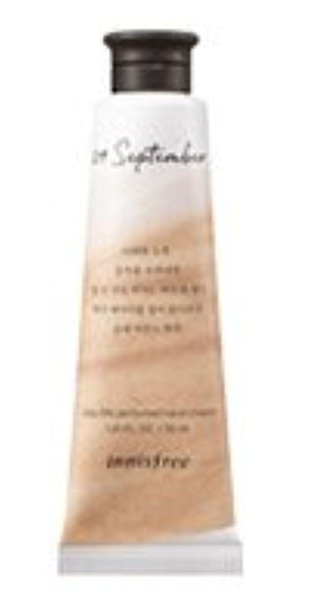 名誉ある古代開いたInnisfree Jeju life Perfumed Hand Cream (9月 紅茶) / イニスフリー 済州ライフ パフューム ハンドクリーム 30ml [並行輸入品]