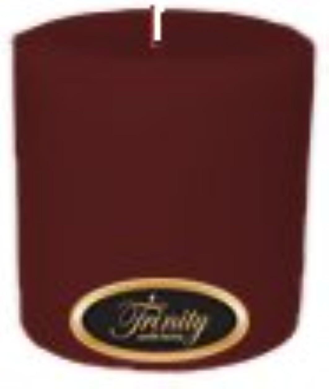 沈黙知っているに立ち寄る縫うTrinity Candle工場 – Mulberry – Pillar Candle – 4 x 4