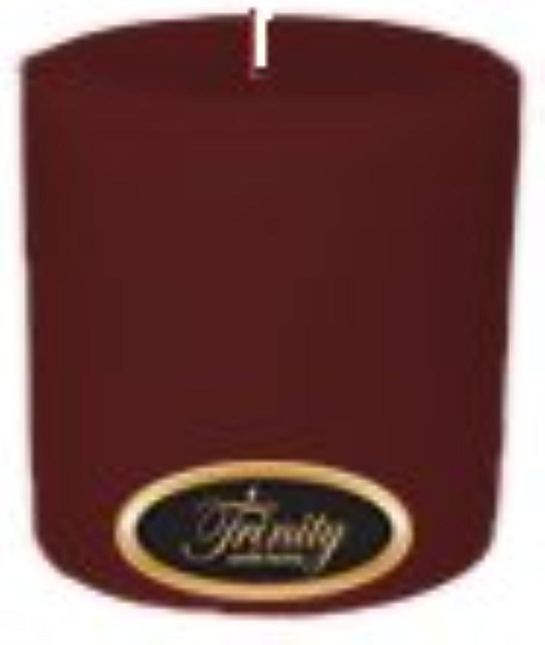 生きる名義で広がりTrinity Candle工場 – Mulberry – Pillar Candle – 4 x 4