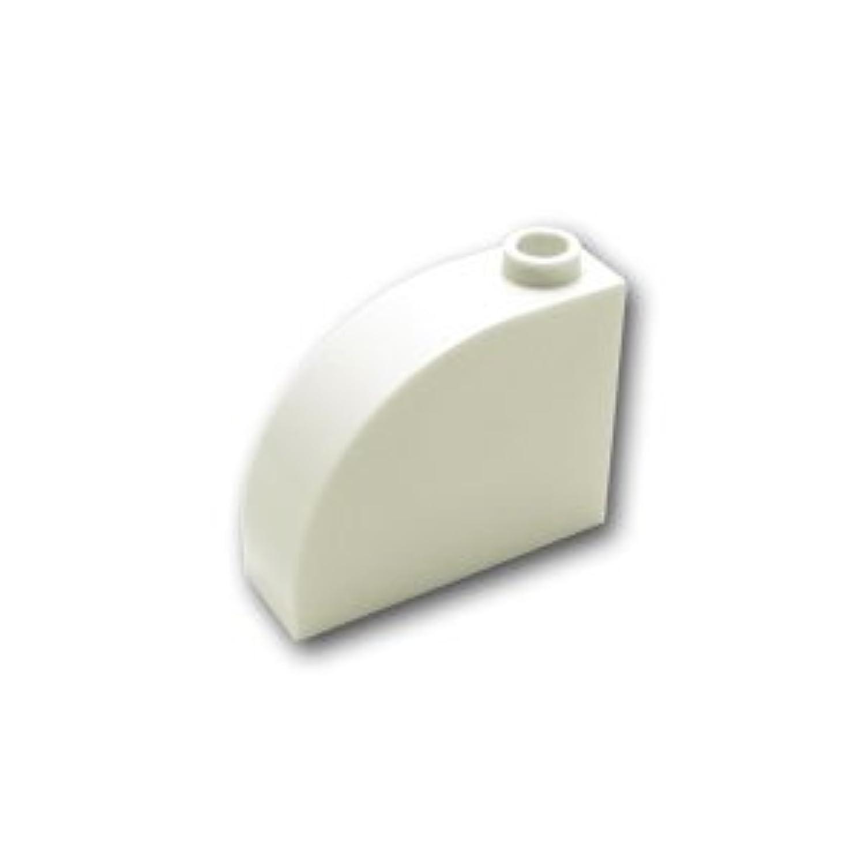 レゴブロックパーツ ブロック 1 x 3 x 2 - カーブトップ:[White / ホワイト]【並行輸入品】