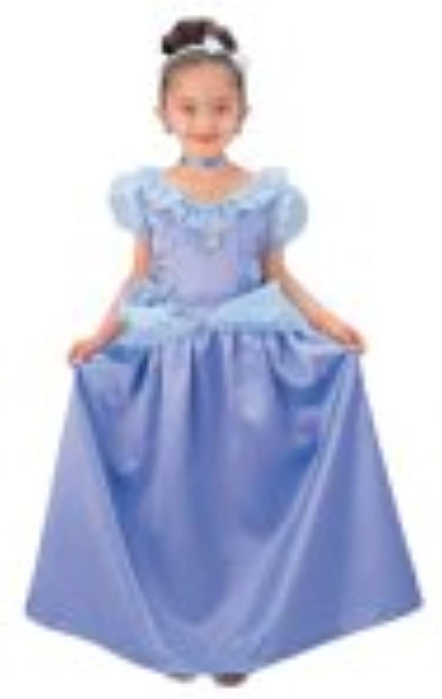 ディズニープリンセス ブルードレス キッズコスチューム 女の子 本体サイズ:290×350×160mm