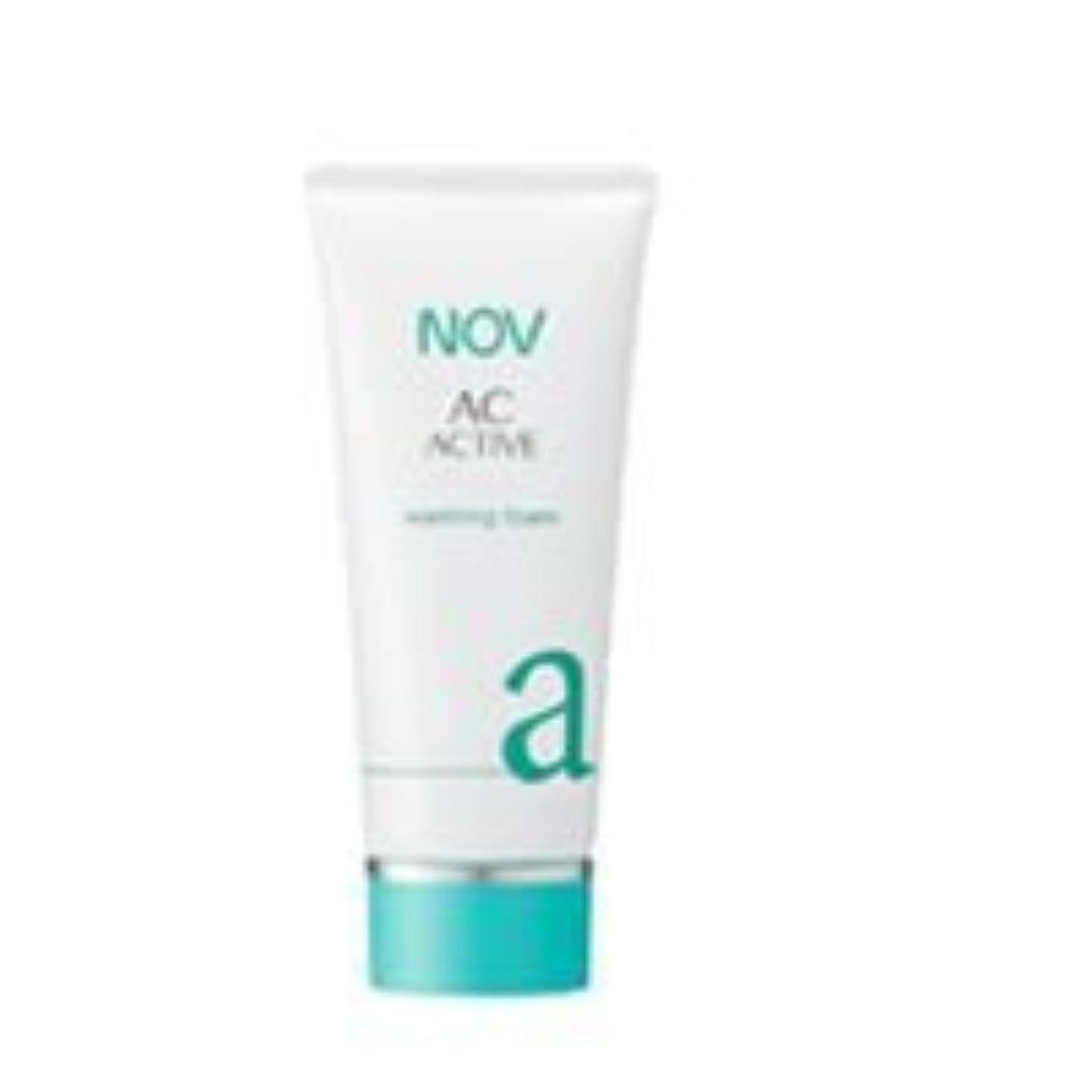 精通したビタミン同等のNOV ACアクティブ ウォッシングフォーム 100g [並行輸入品]