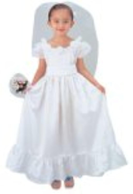ディズニープリンセス ホワイトウェディングドレス キッズコスチューム 女の子 本体サイズ:290×350×160mm