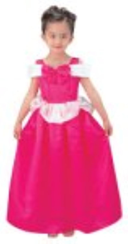ディズニープリンセス ピンクドレス キッズコスチューム 女の子 本体サイズ:290×350×160mm