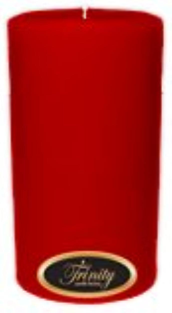 震える魅了する検出器Trinity Candle工場 – ザクロ – Pillar Candle – 3 x 6