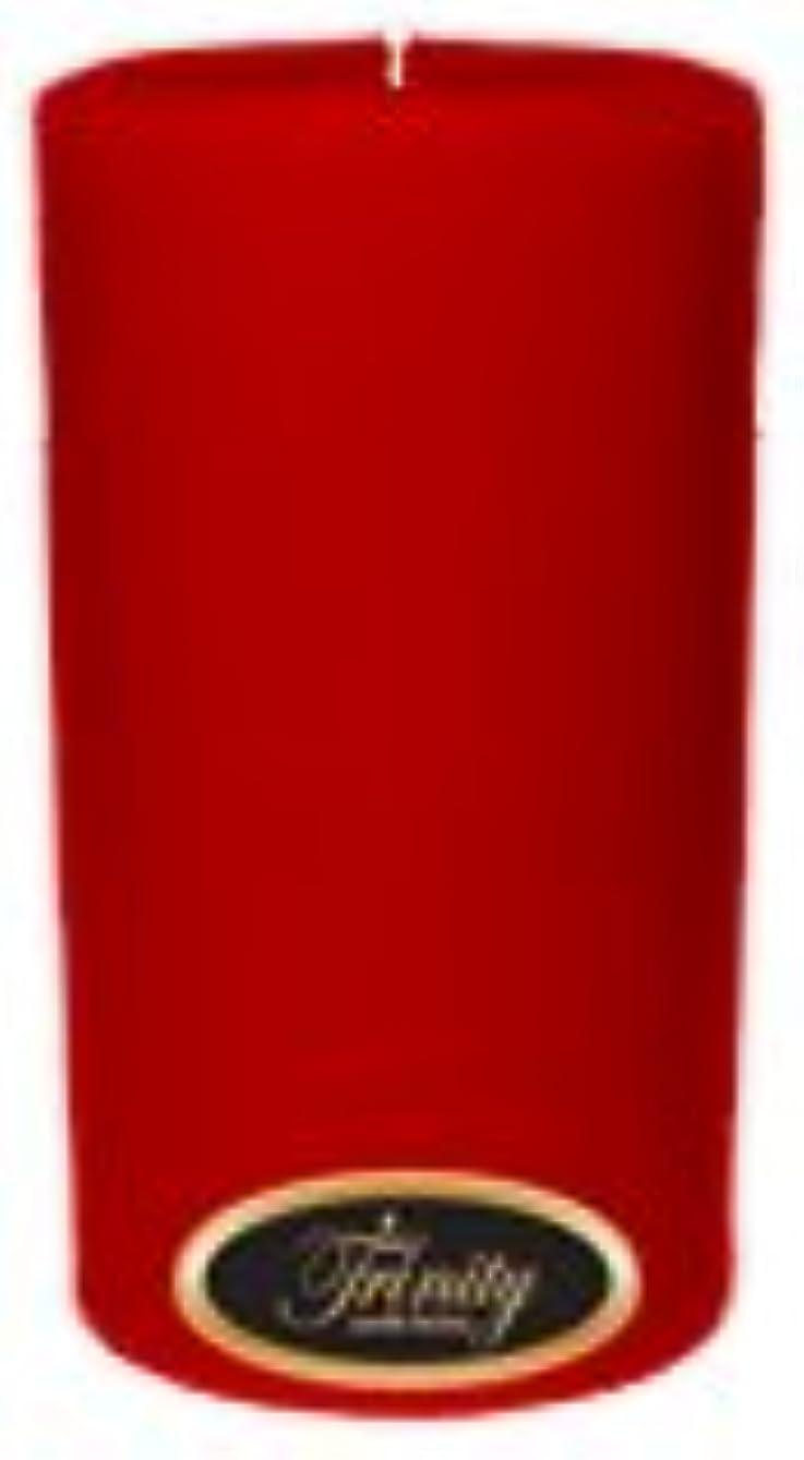 藤色本部食事Trinity Candle工場 – ザクロ – Pillar Candle – 3 x 6