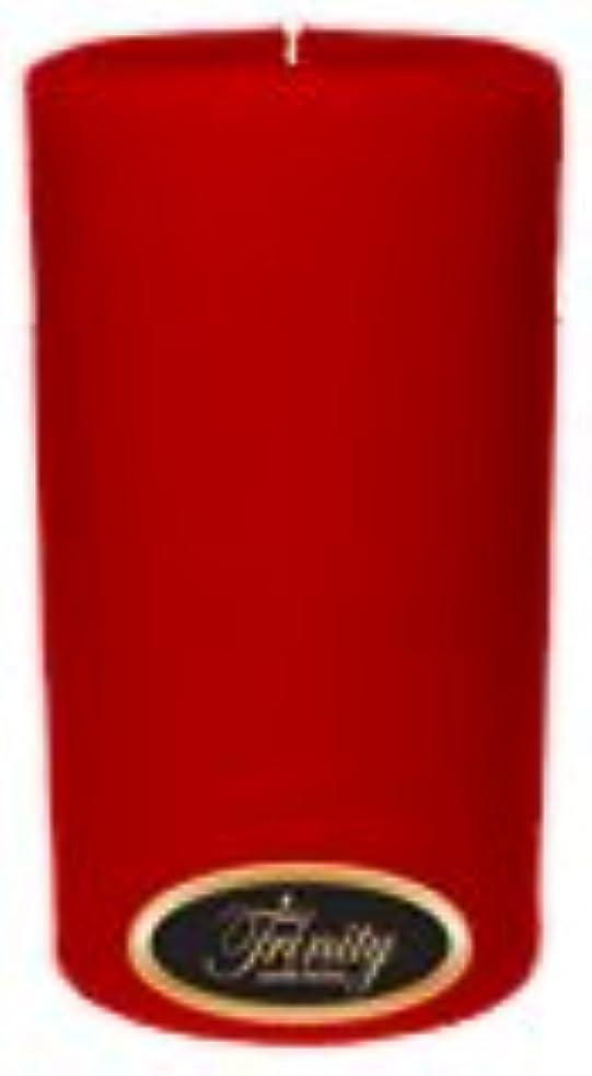 半島実現可能資本主義Trinity Candle工場 – ザクロ – Pillar Candle – 3 x 6