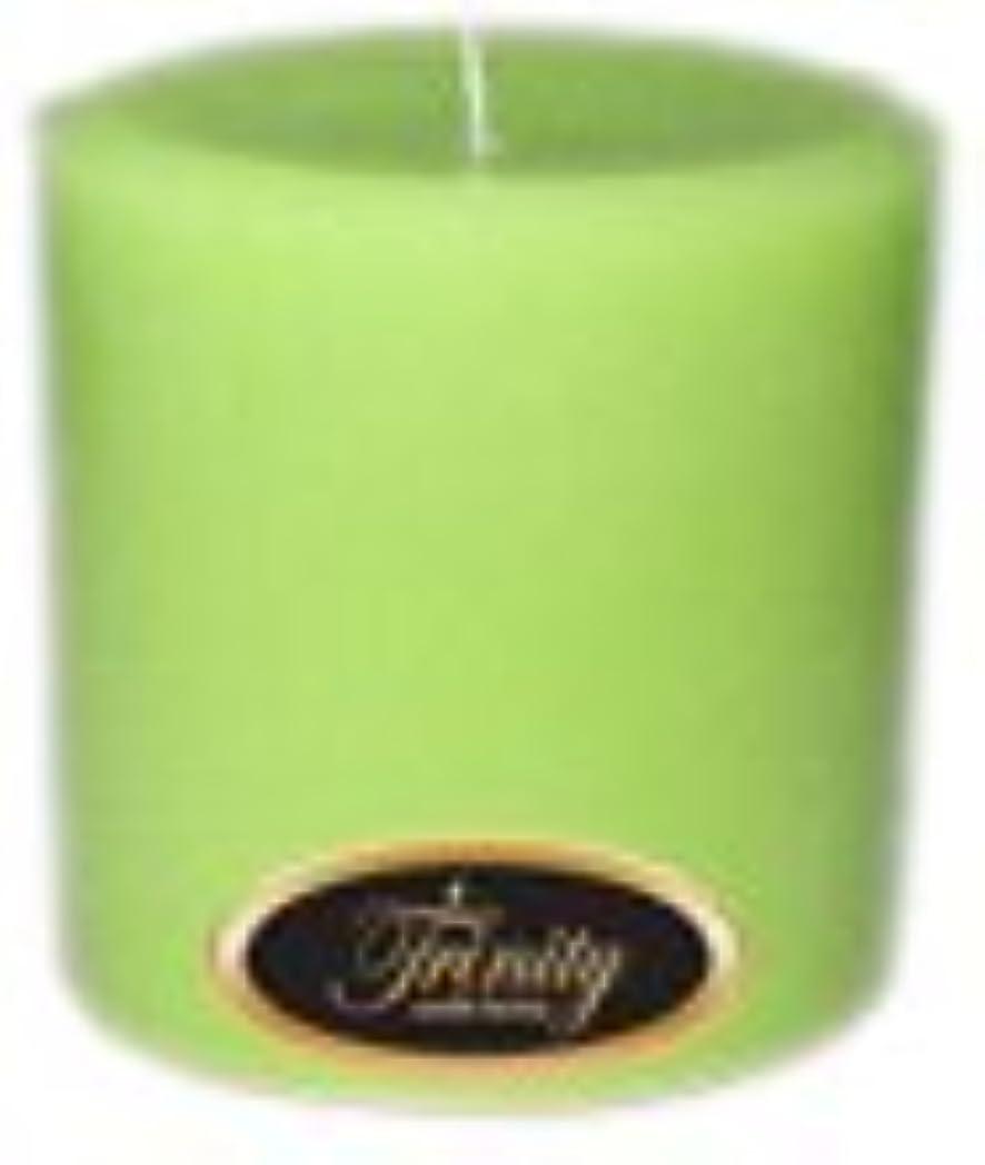 くびれた明確にのぞき見Trinity Candle工場 – モロッコメロン – Pillar Candle – 4 x 4