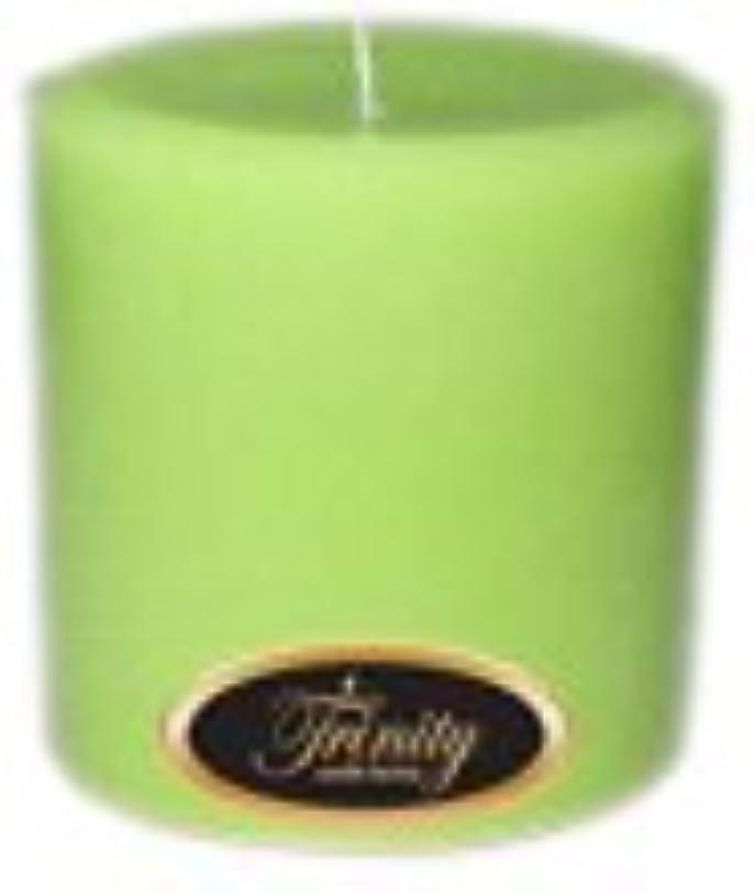 神経補助乗り出すTrinity Candle工場 – モロッコメロン – Pillar Candle – 4 x 4