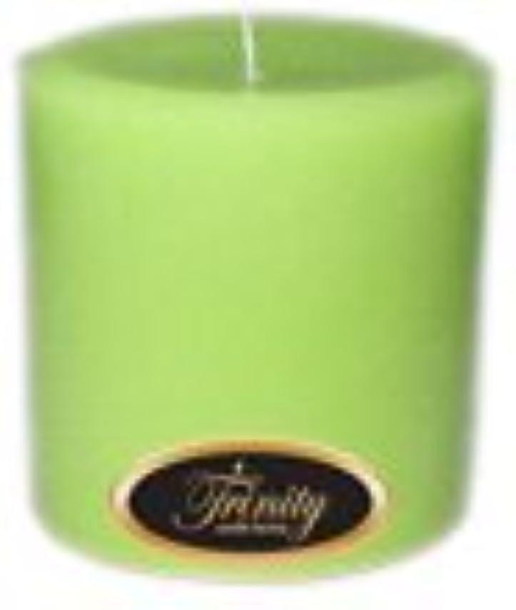 クマノミ踏み台巨大なTrinity Candle工場 – モロッコメロン – Pillar Candle – 4 x 4