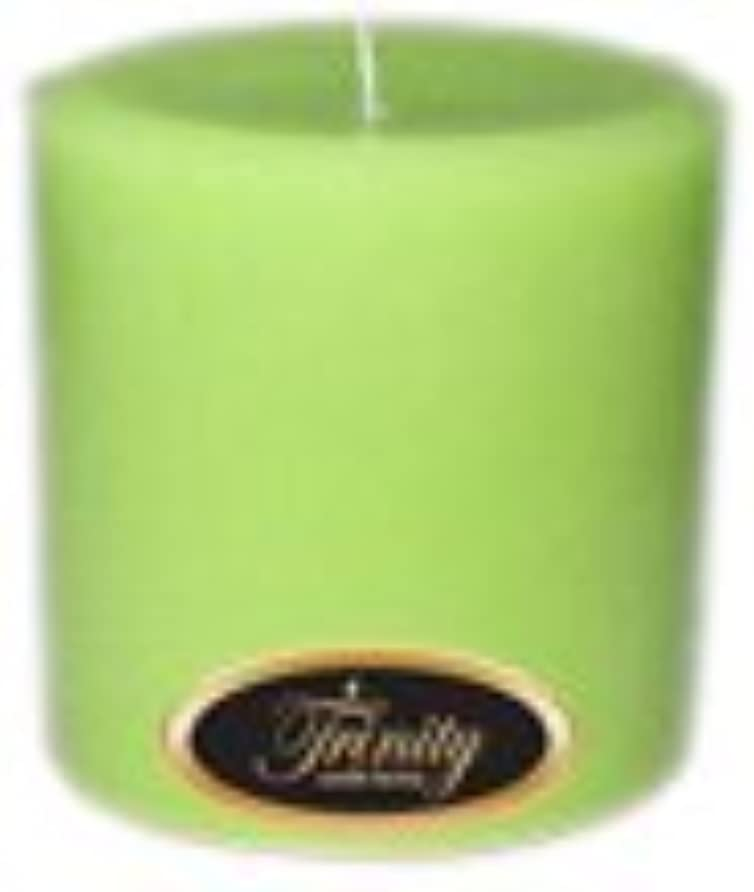 Trinity Candle工場 – モロッコメロン – Pillar Candle – 4 x 4