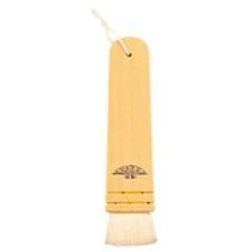 明確な驚くべきさておき三善 長柄板刷毛 メイクブラシ 木製 30mm(山羊毛) #