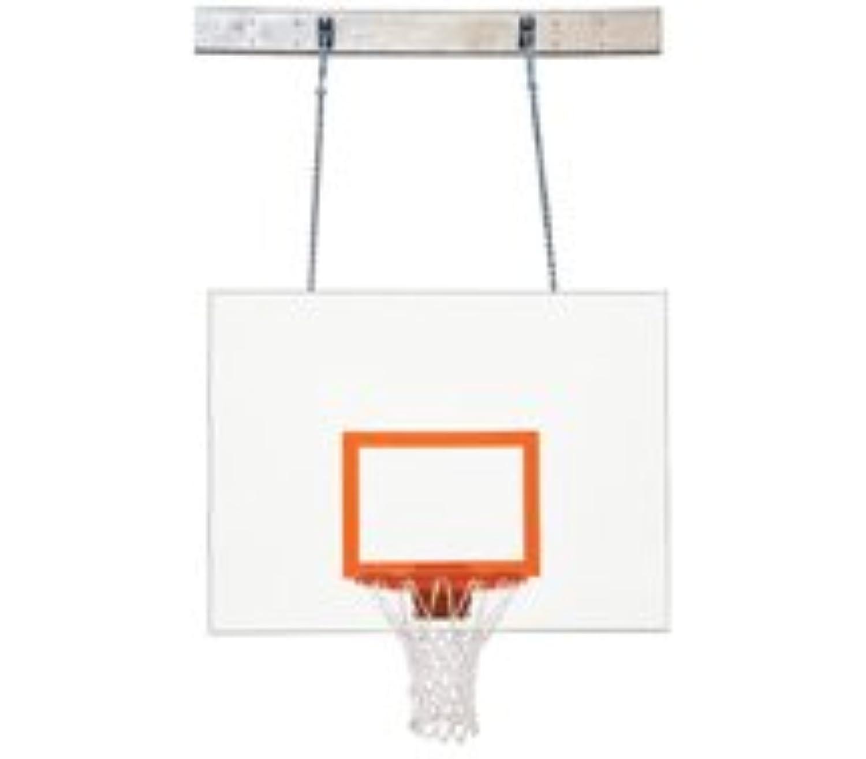 最初チームsupermount46 Aggressorスチール壁マウントバスケットボールsystem44 ;グレー