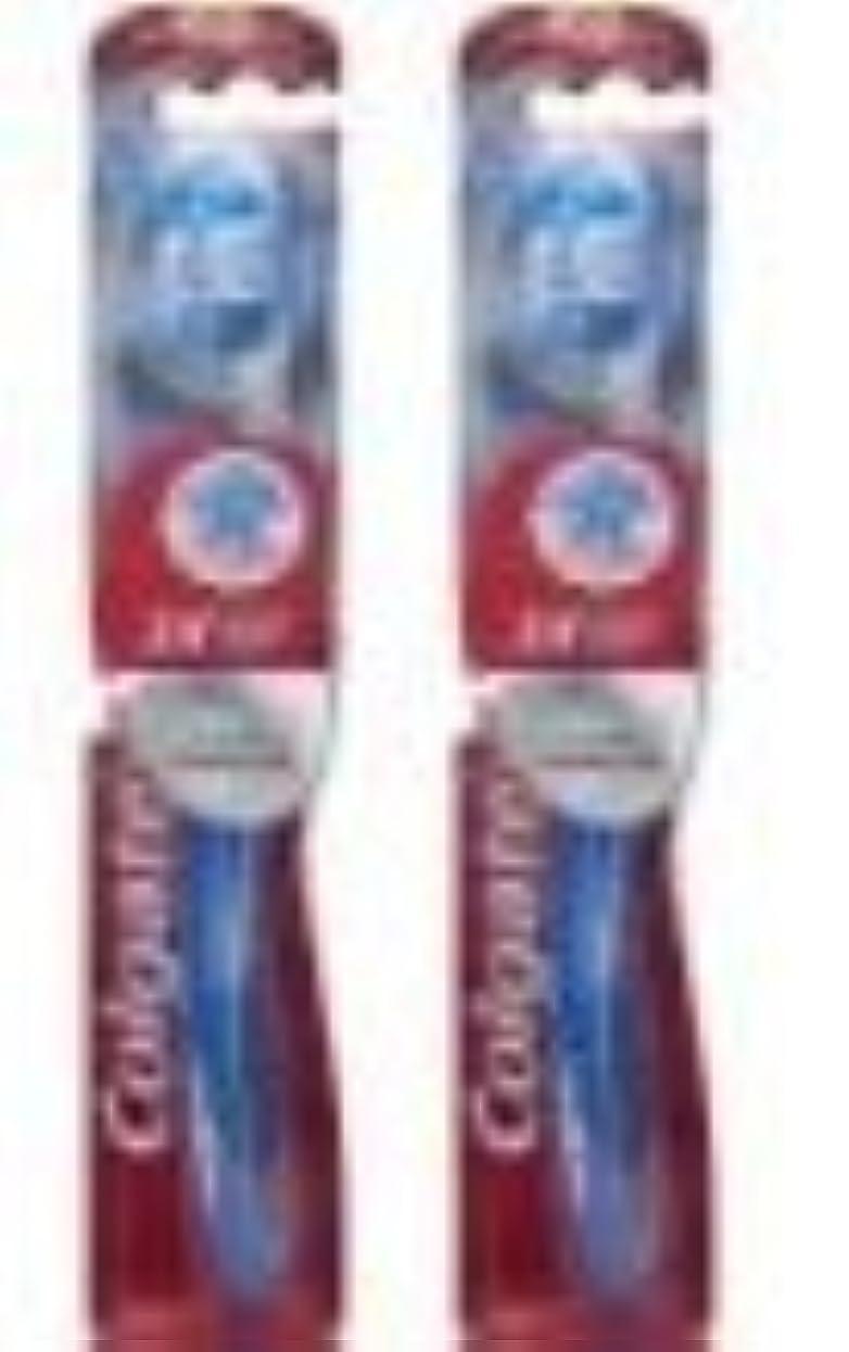 花瓶ラッシュ例Colgate 360のフルTbのSFT 4サイズ1CT 360全歯ブラシソフト42mmの1CT
