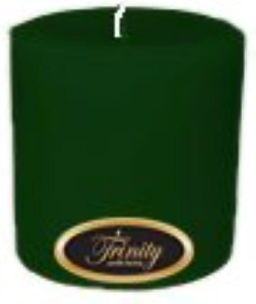 追い出すたらいサワーTrinity Candle工場 – Pine – Pillar Candle – 4 x 4