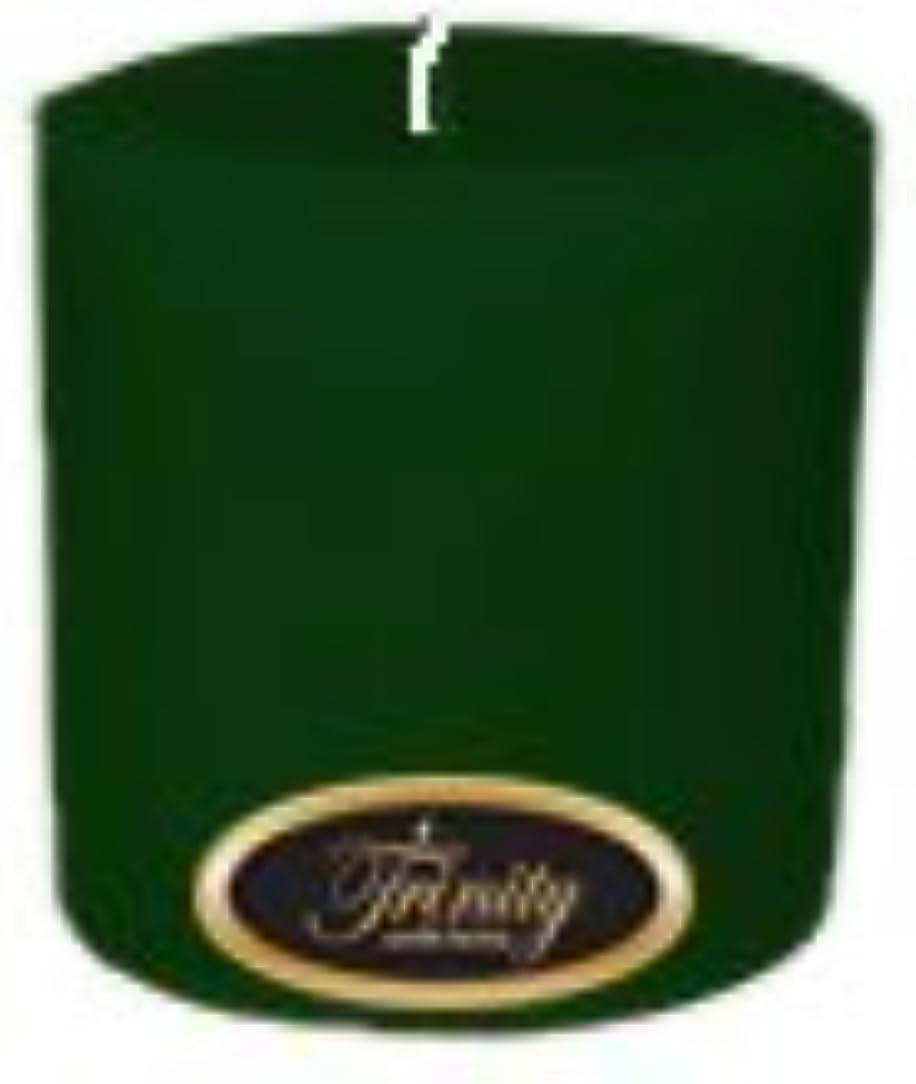 ビスケット出血強いTrinity Candle工場 – Pine – Pillar Candle – 4 x 4