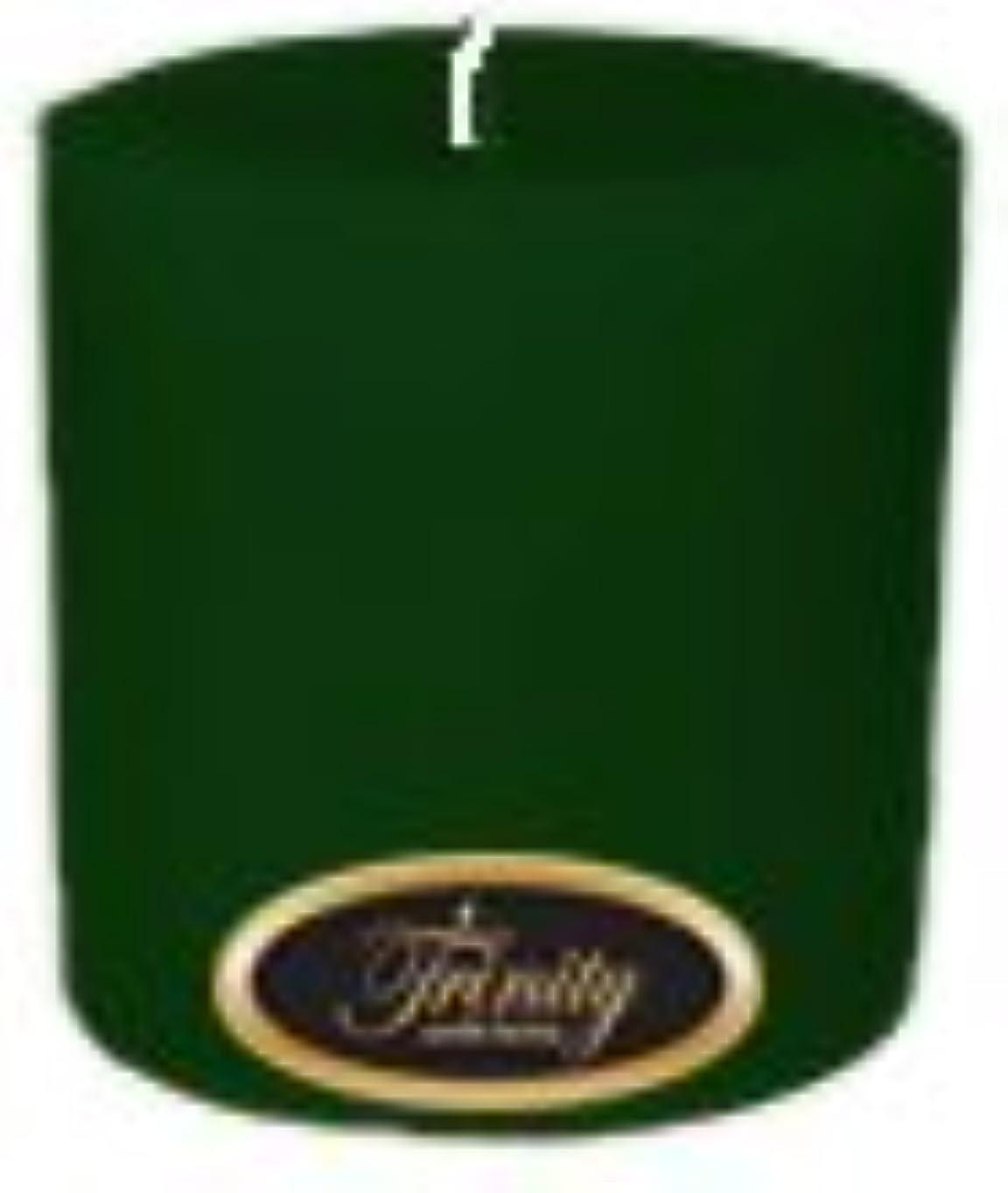 腹アドバンテージ効能Trinity Candle工場 – Pine – Pillar Candle – 4 x 4