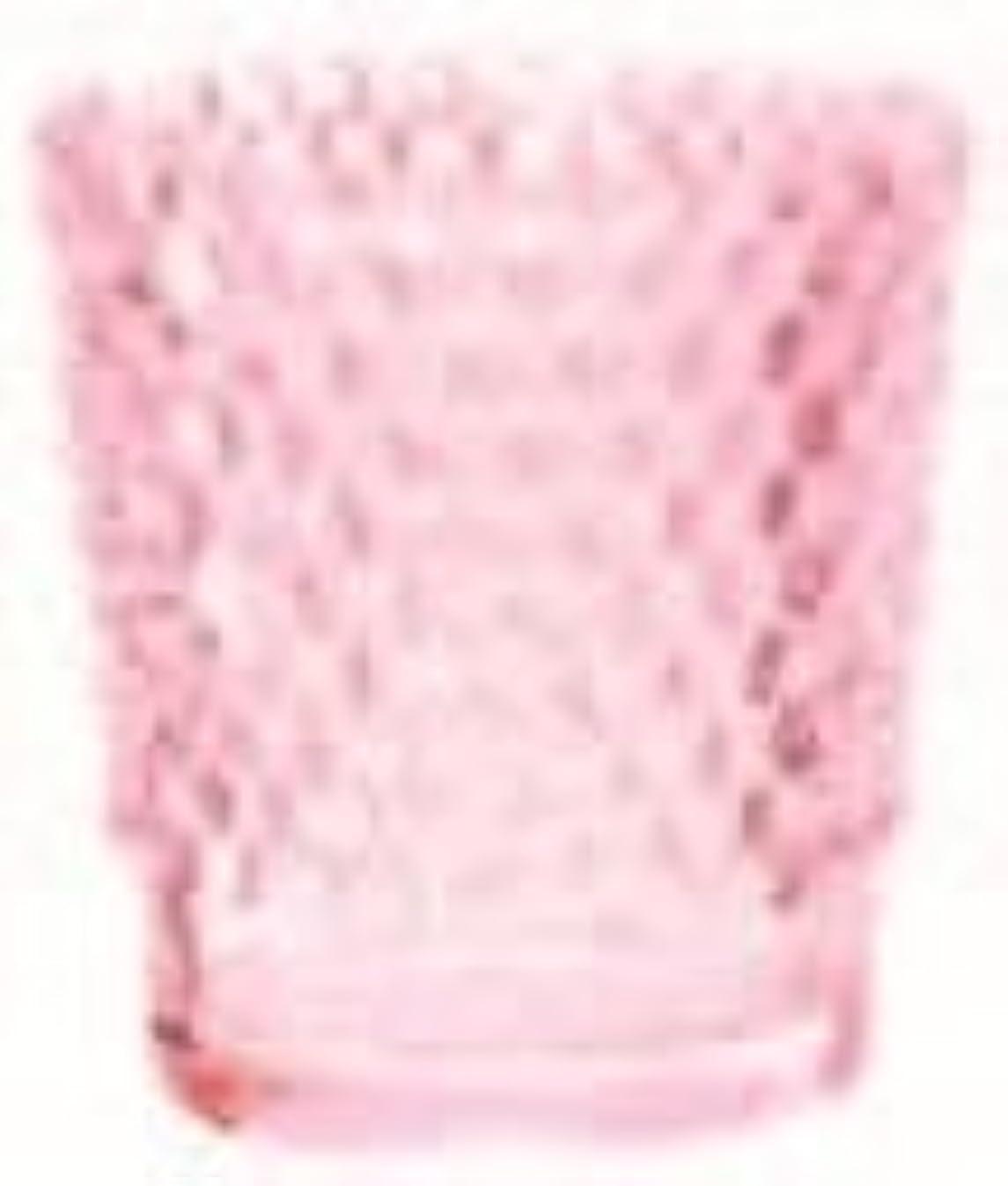 ハム目的望まないカメヤマキャンドル(kameyama candle) ホビネルグラス 「 コーラル 」