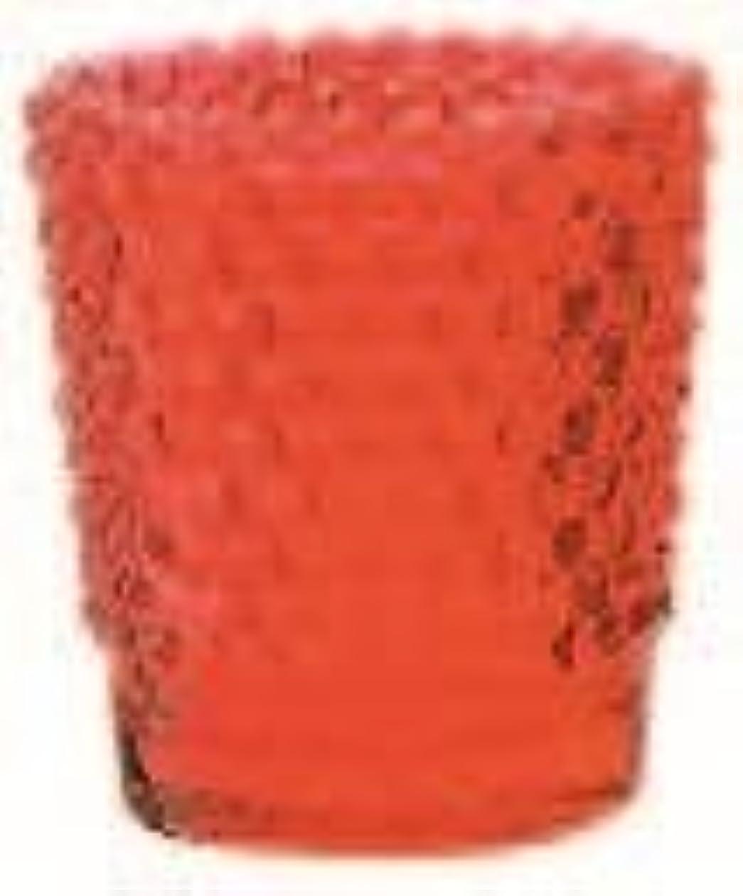 ポジティブ荒涼としたバウンスカメヤマキャンドル(kameyama candle) ホビネルグラス 「 ルビー 」