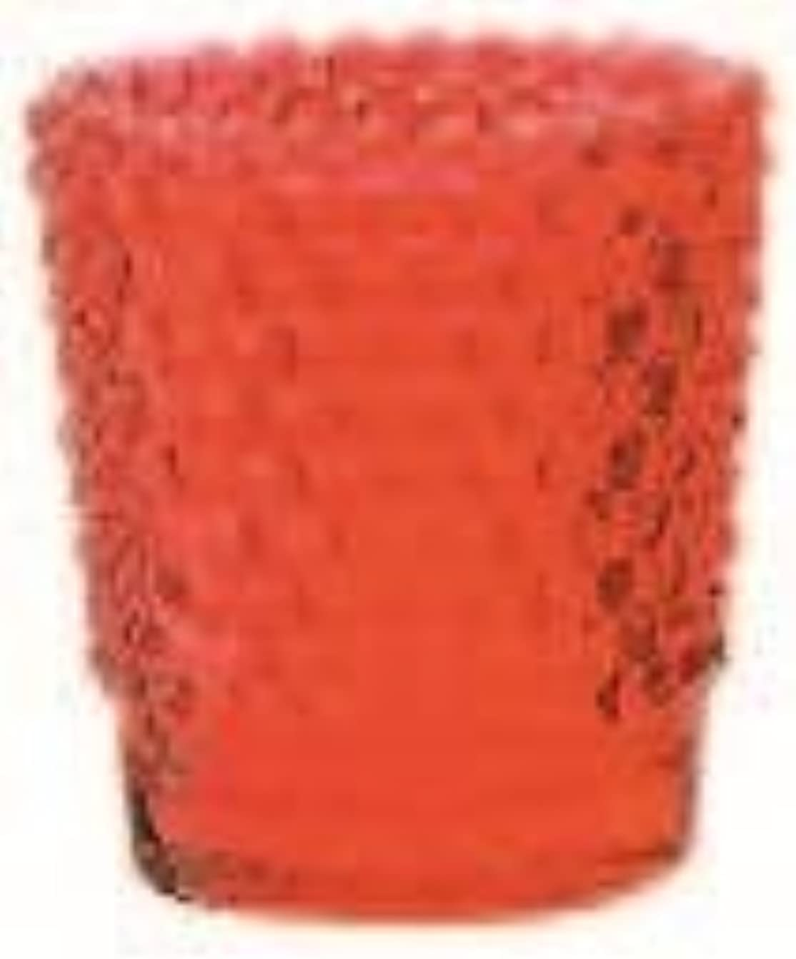 かび臭いダルセット地味なカメヤマキャンドル(kameyama candle) ホビネルグラス 「 ルビー 」