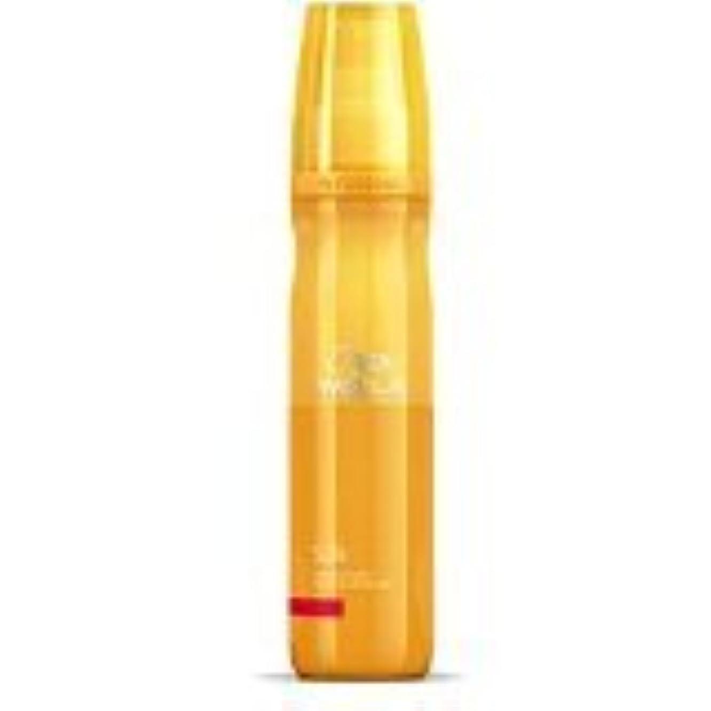 ピケ吸収鳩【x5個セット】 ウエラ サン UVカラープロテクションスプレー 150ml
