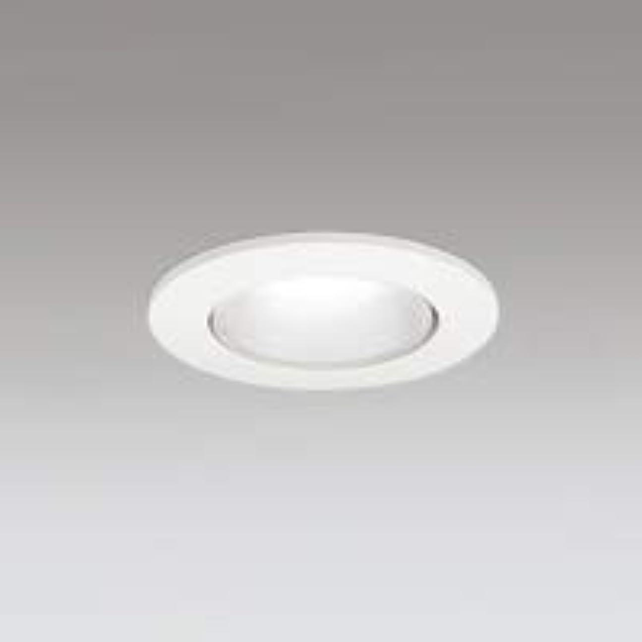 鳴らす使用法線ODELIC LEDダウンライト ミニマム-エス 専用調光器対応 白熱灯60W相当 ワイド配光 埋込穴Φ50mm 本体色オフホワイト 光色温白色 高気密SB コーンタイプ LED一体型 OD361374