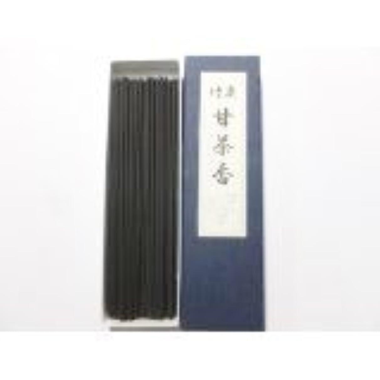 修理可能倍増タール淡路梅薫堂の線香 竹炭甘茶香 18g #30 ×100