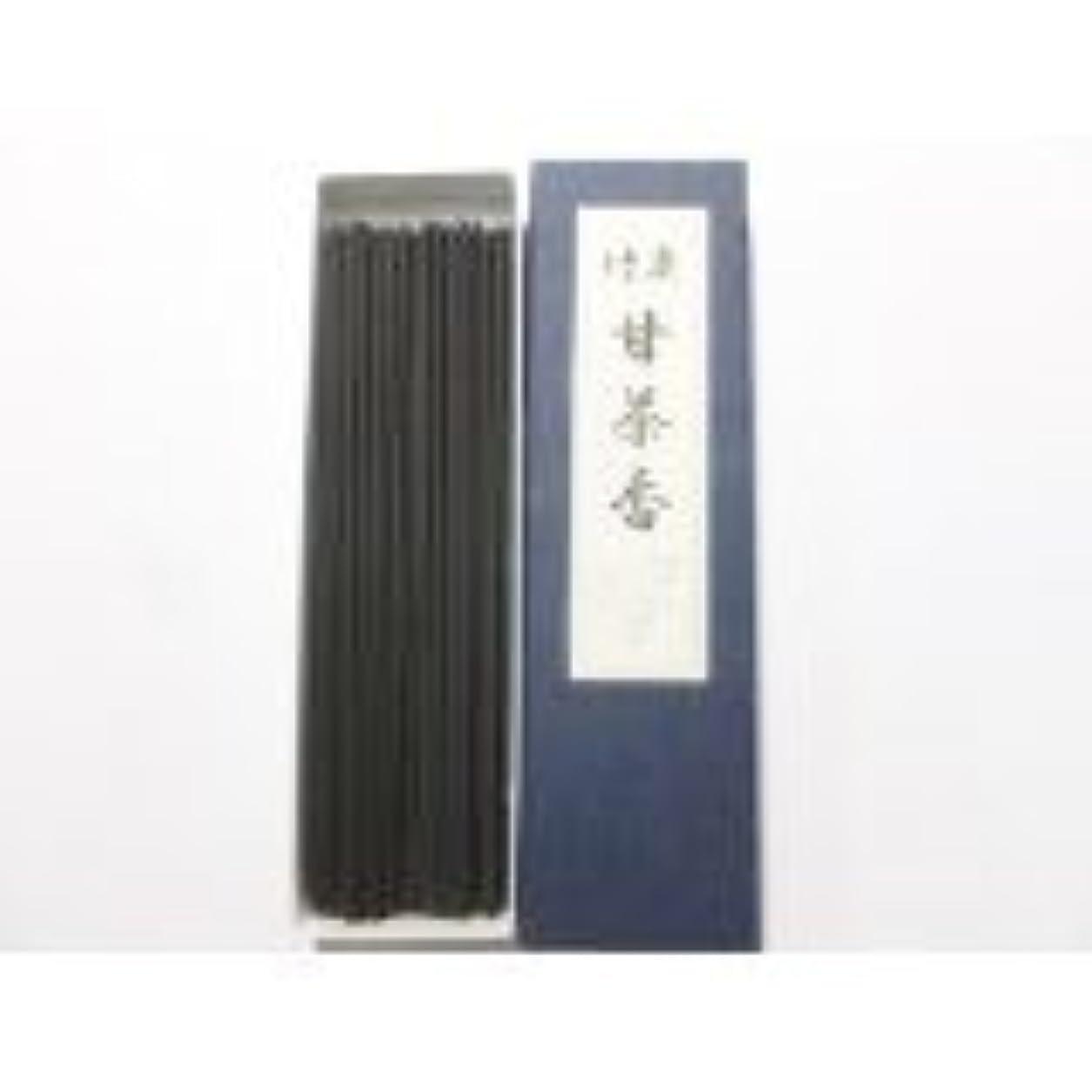 辞任事前少ない淡路梅薫堂の線香 竹炭甘茶香 18g #30 ×100